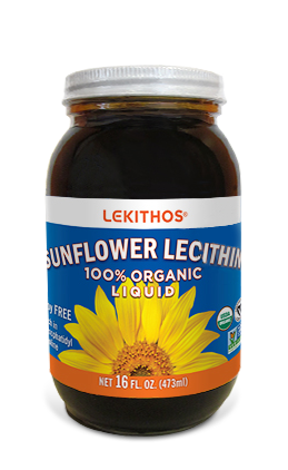 100% Organic Liquid Sunflower Lecithin