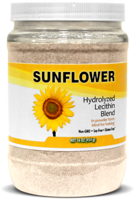 Sunflower Lecithin for Baking